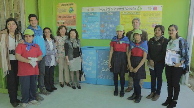 Ceremonia de Cierre Proyecto «Recicla en tu Escuela» del Colegio Luis Cruz Martínez